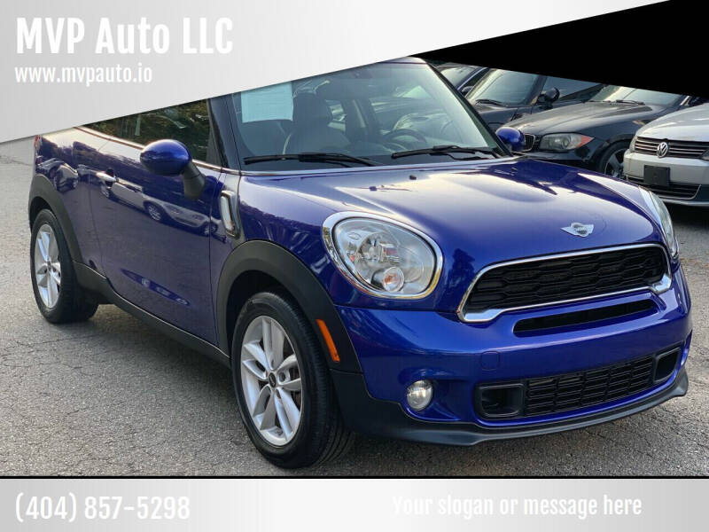 2014 MINI Paceman for sale at MVP Auto LLC in Alpharetta GA