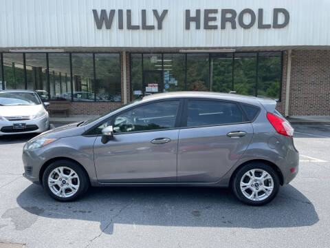 2014 Ford Fiesta for sale at Willy Herold Automotive in Columbus GA