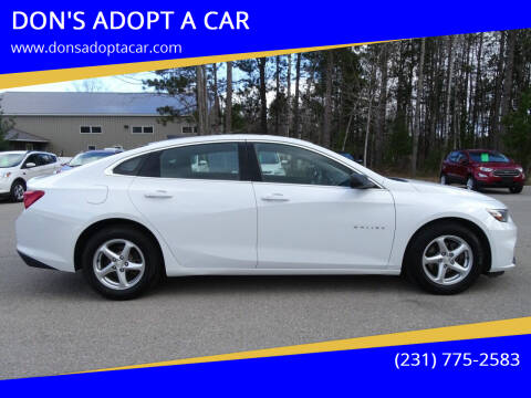 2016 Chevrolet Malibu for sale at DON'S ADOPT A CAR in Cadillac MI