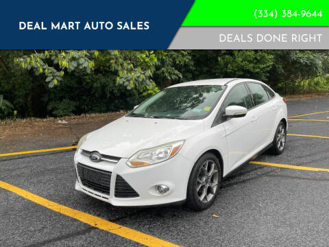 2013 Ford Focus for sale at Deal Mart Auto Sales in Phenix City AL