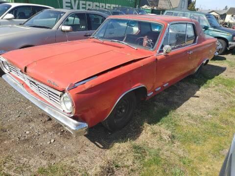 1965 Dodge Dart for sale at JMG MOTORS in Lynden WA