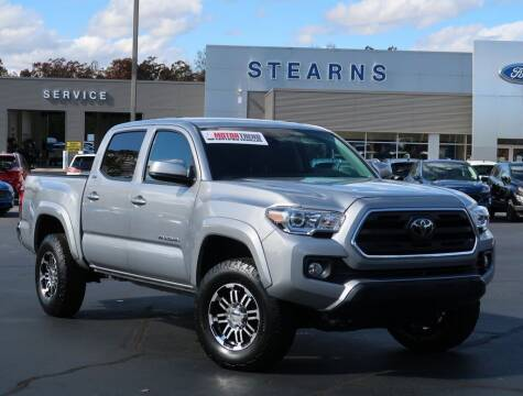 2019 Toyota Tacoma for sale at Stearns Ford in Burlington NC