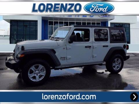 2018 Jeep Wrangler Unlimited for sale at Lorenzo Ford in Homestead FL