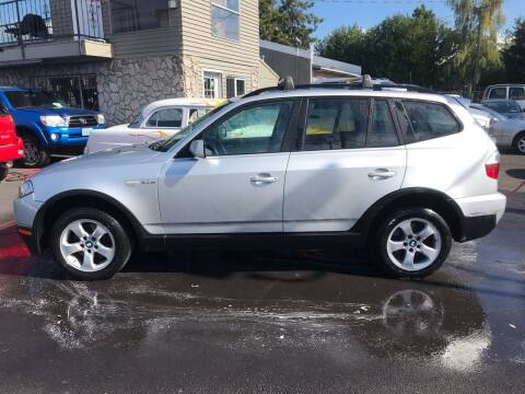 2008 BMW X3 for sale at Chuck Wise Motors in Portland OR
