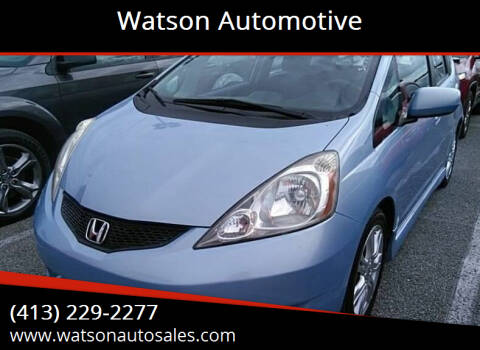 2009 Honda Fit for sale at Watson Automotive in Sheffield MA