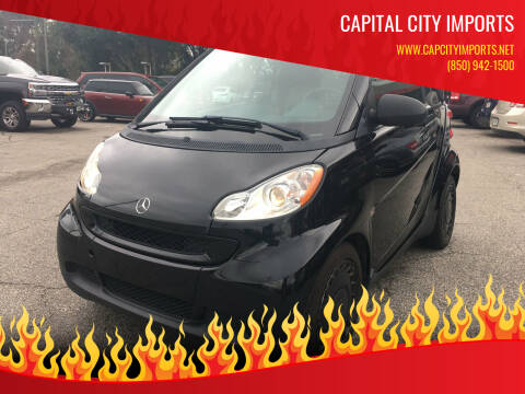 2012 Smart fortwo for sale at Capital City Imports in Tallahassee FL