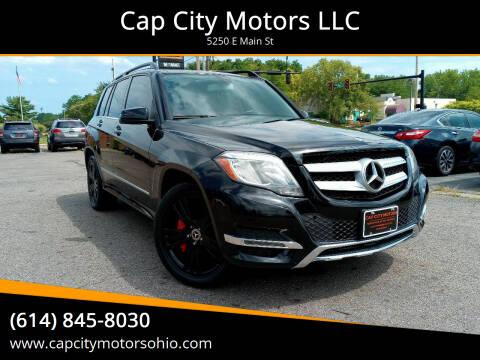 2015 Mercedes-Benz GLK for sale at Cap City Motors LLC in Columbus OH