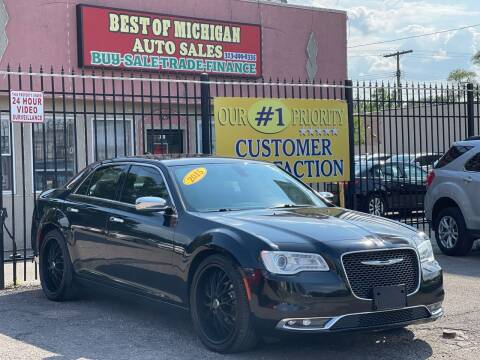 2015 Chrysler 300 for sale at Best of Michigan Auto Sales in Detroit MI
