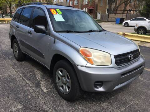 2005 Toyota RAV4 for sale at 540 AUTO SALES in Chicago IL