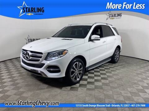 2016 Mercedes-Benz GLE for sale at Pedro @ Starling Chevrolet in Orlando FL