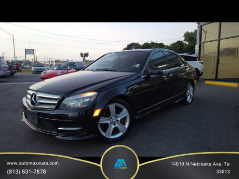2011 Mercedes-Benz C-Class for sale at Automaxx in Tampa FL