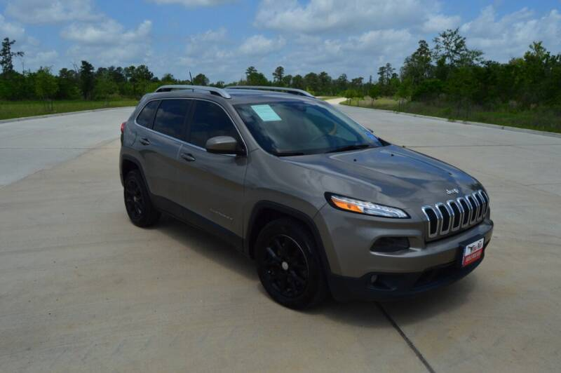 2016 Jeep Cherokee for sale at Fincher's Texas Best Auto & Truck Sales in Tomball TX