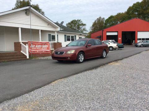 2004 Nissan Altima for sale at Ace Auto Sales - $1200 DOWN PAYMENTS in Fyffe AL