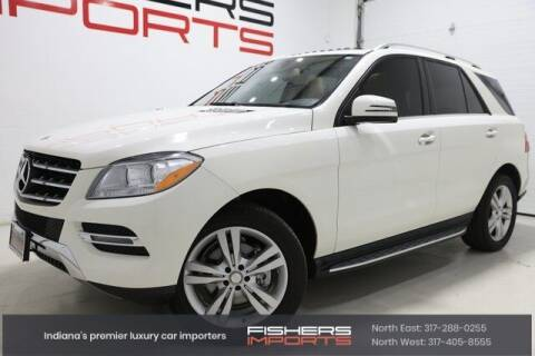 2013 Mercedes-Benz M-Class for sale at Fishers Imports in Fishers IN