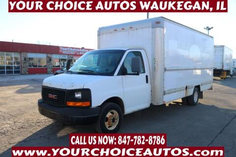 2009 GMC Savana Cutaway for sale at Your Choice Autos - Waukegan in Waukegan IL