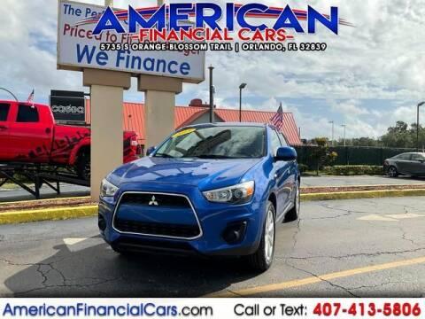 2015 Mitsubishi Outlander Sport for sale at American Financial Cars in Orlando FL