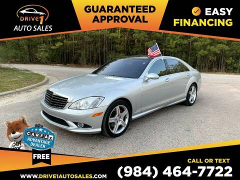 2009 Mercedes-Benz S-Class for sale at Drive 1 Auto Sales in Wake Forest NC