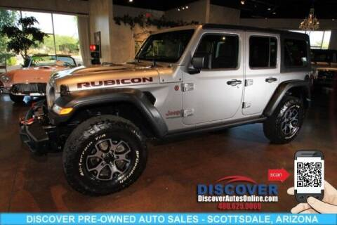 2019 Jeep Wrangler Unlimited for sale at Discover Pre-Owned Auto Sales in Scottsdale AZ