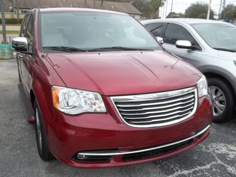 2013 Chrysler Town and Country for sale at PJ's Auto World Inc in Clearwater FL