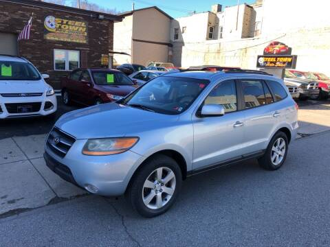 2008 Hyundai Santa Fe for sale at STEEL TOWN PRE OWNED AUTO SALES in Weirton WV