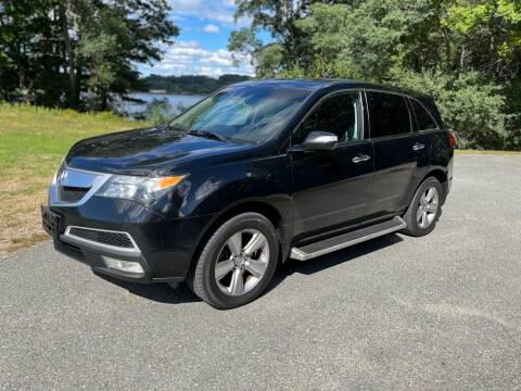 2012 Acura MDX for sale at Elite Pre-Owned Auto in Peabody MA