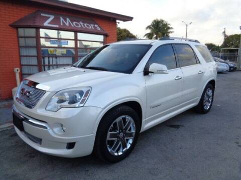 2012 GMC Acadia for sale at Z MOTORS INC in Hollywood FL