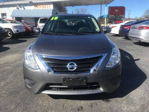 2018 Nissan Versa for sale at Dad's Auto Sales in Newport News VA