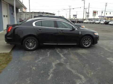 2011 Lincoln MKS for sale at Kevin's Motor Sales in Montpelier OH