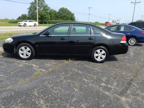 2008 Chevrolet Impala for sale at Kevin's Motor Sales in Montpelier OH