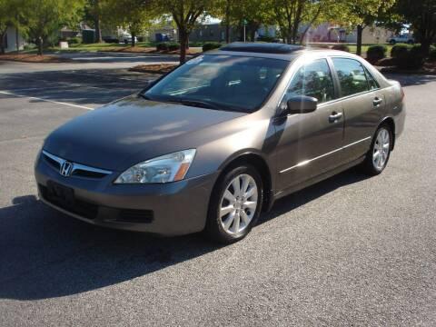 2006 Honda Accord for sale at Uniworld Auto Sales LLC. in Greensboro NC