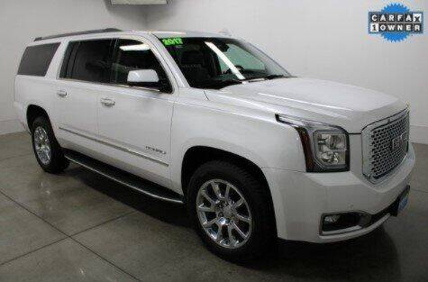 2017 GMC Yukon XL for sale at Rizza Buick GMC Cadillac in Tinley Park IL