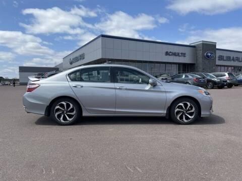 2016 Honda Accord for sale at Schulte Subaru in Sioux Falls SD
