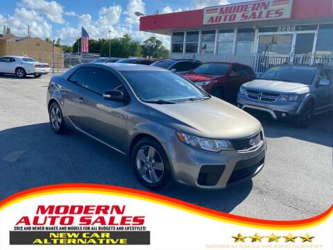 2010 Kia Forte Koup for sale at Modern Auto Sales in Hollywood FL