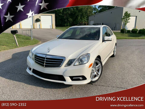 2011 Mercedes-Benz E-Class for sale at Driving Xcellence in Jeffersonville IN