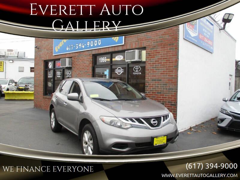 2011 Nissan Murano for sale at Everett Auto Gallery in Everett MA