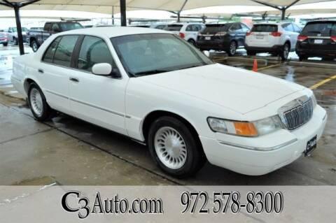 2000 Mercury Grand Marquis for sale at C3Auto.com in Plano TX