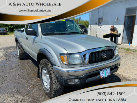 2004 Toyota Tacoma for sale at A & M Auto Wholesale in Tillamook OR
