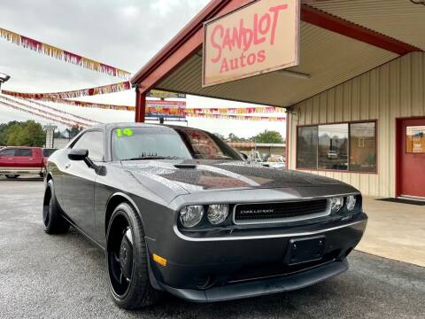 2014 Dodge Challenger for sale at Sandlot Autos in Tyler TX