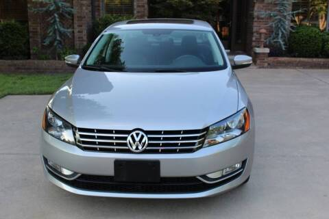 2013 Volkswagen Passat for sale at CANTWEIGHT CLASSICS in Maysville OK