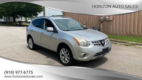 2013 Nissan Rogue for sale at Horizon Auto Sales in Raleigh NC