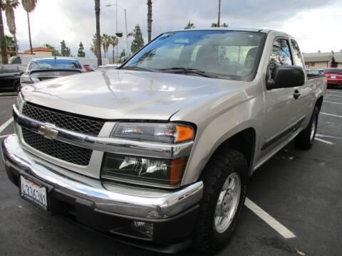 2008 Chevrolet Colorado for sale at F & A Car Sales Inc in Ontario CA