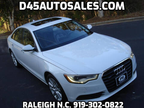 2013 Audi A6 for sale at D45 Auto Brokers in Raleigh NC