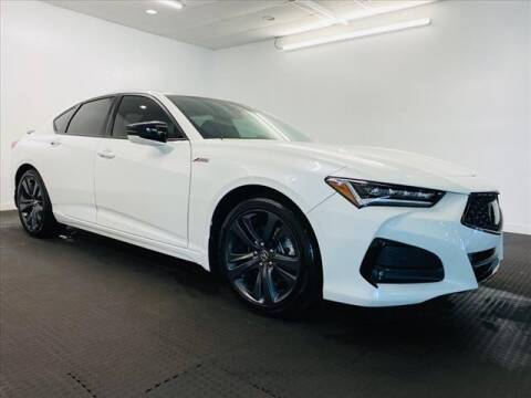 2021 Acura TLX for sale at Champagne Motor Car Company in Willimantic CT