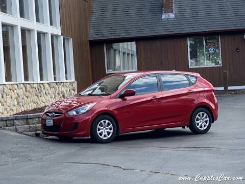 2013 Hyundai Accent for sale at Cupples Car Company in Belmont NH