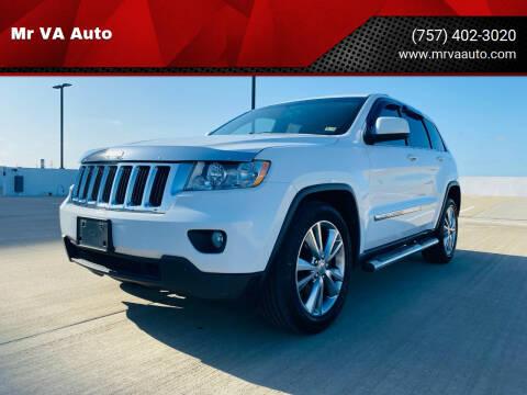 2013 Jeep Grand Cherokee for sale at Mr VA Auto in Chesapeake VA