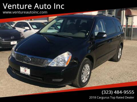 2011 Kia Sedona for sale at Venture Auto Inc in South Gate CA