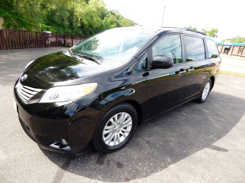 2011 Toyota Sienna for sale at Chris's Century Car Company in Saint Paul MN