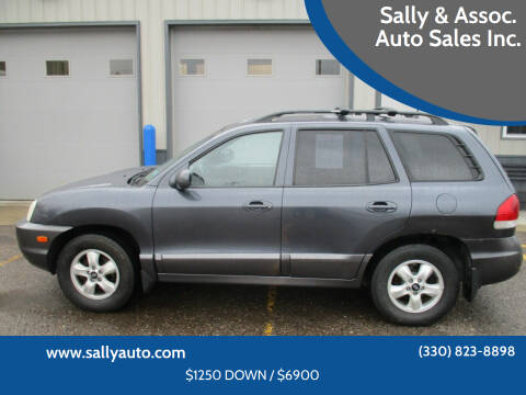 2005 Hyundai Santa Fe for sale at Sally & Assoc. Auto Sales Inc. in Alliance OH