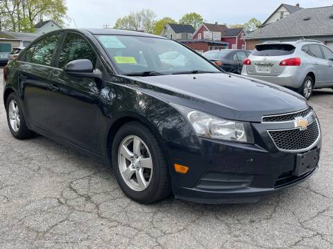 2013 Chevrolet Cruze for sale at Emory Street Auto Sales and Service in Attleboro MA