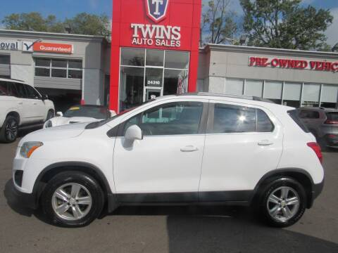 2015 Chevrolet Trax for sale at Twins Auto Sales Inc in Detroit MI
